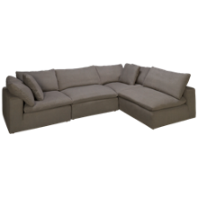 Synergy Peyton 4 Piece Sectional