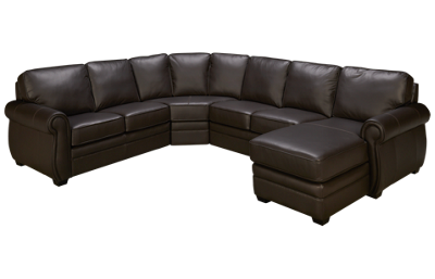 Palliser Viceroy 4 Piece Leather Sectional