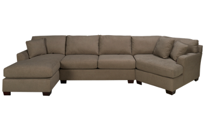 Max Home Jessica 3 Piece Sectional