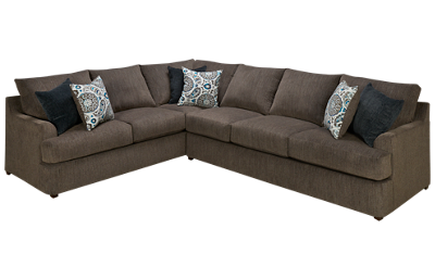 United Grandstand 2 Piece Sectional