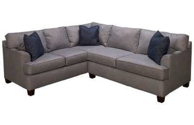 Klaussner Home Furnishings Sparks 2 Piece Sectional