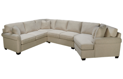 Max Home Cuddler 3 Piece Sectional