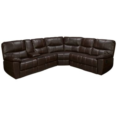 Synergy Rancher 3 Piece Power Reclining Sectional