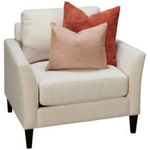 Jonathan Louis Design Lab Chair with Toss Pillows