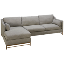 Klaussner Home Furnishings Harlow 2 Piece Sectional
