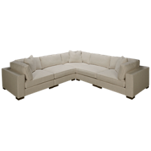 Max Home Bermuda 5 Piece Sectional