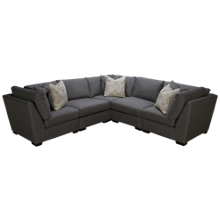 Bauhaus  Klein 5 Piece Sectional