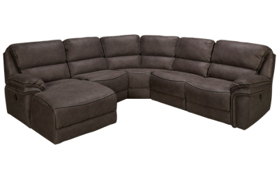 Mstar International Marlboro 5 Piece Power Reclining Sectional
