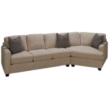 Bauhaus  Bauh Simple 2 Piece Sectional