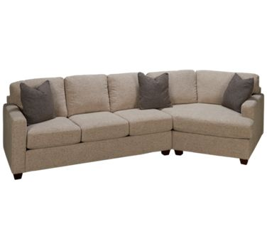 Bauhaus Bauh Simple 2 Piece Sectional Jordan S Furniture