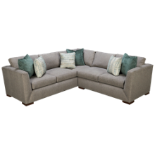 Klaussner Home Furnishings Milo 2 Piece Sectional
