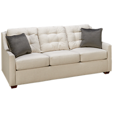 Klaussner Home Furnishings Grayton Queen Sleeper Sofa with Innerspring Mattress