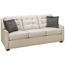 Klaussner Home Furnishings Grayton Queen Sleeper Sofa with Air Mattress