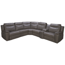 Palliser Buckingham 6 Piece Leather Sectional