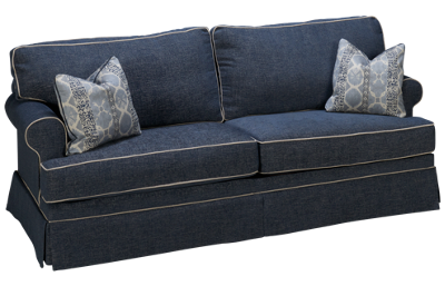 Klaussner Home Furnishings Corin Queen Sofa Sleeper with