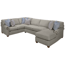 Rowe  Morgan 3 Piece Sectional