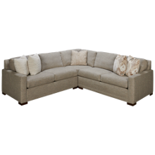 Huntington House Mini Pit 3 Piece Sectional