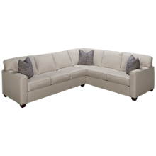 Bauhaus Hastings 2 Piece Sectional