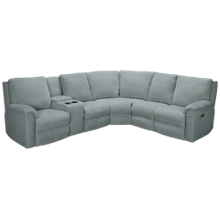 Klaussner Home Furnishings Moving Your Way 3 Piece Power Reclining Sectional