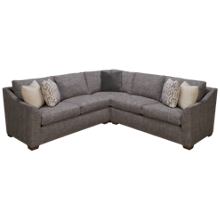 Huntington House Plush 3 Piece Sectional