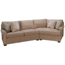 Huntington House Plush 2 Piece Sectional