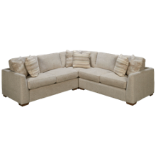 Craftmaster CM Modern 3 Piece Sectional