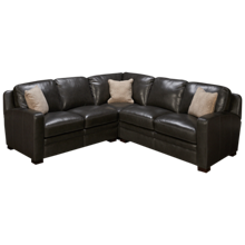 Simon Li El Paso 3 Piece Leather Sectional