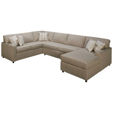 Pleasing Rowe Monaco 3 Piece Sectional Forskolin Free Trial Chair Design Images Forskolin Free Trialorg