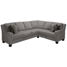 Southern Motion West End Power 3 Piece Reclining Sectional with Tilt Headrest