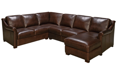 Soft Line Everest 3 Piece Leather Sectional