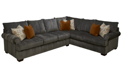 Klaussner Home Furnishings Ginger 2 Piece Sectional