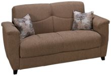 Istikbal Aspen Convertible Loveseat with Storage