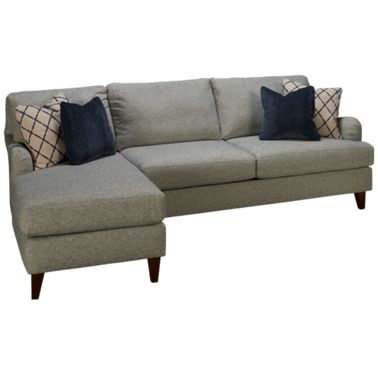 Klaussner Home Furnishings Alden 2 Piece Sectional