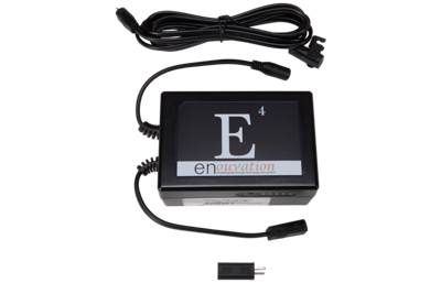 Enouvation E4 Battery Pack, Adapter and Extender Cable