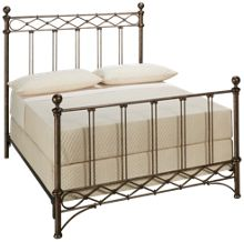 Fashion Bed Argyle Full Metal Bed