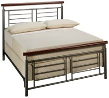 Fashion Bed Fontane Full Metal Bed Complete