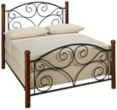 Fashion Bed Full Doral Metal Bed