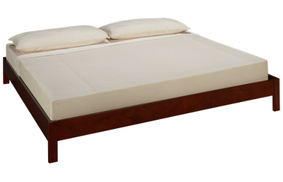 Fashion Bed Murray King Platform Bed - Mahogany