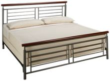 Fashion Bed Fontane King Metal Bed Complete
