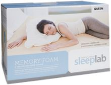 Jordan's Sleep Lab Memory Foam Mattress Topper