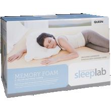 Jordan's Sleep Lab Memory Foam Mattress Topper