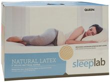 Jordan's Sleep Lab Latex Foam Mattress Topper
