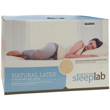 Jordan's Sleep Lab Latex Foam Mattress Topper