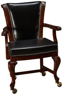 American Heritage Billiards Napoli Game Chair