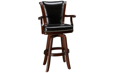 American Heritage Billiards Camden Swivel Bar Stool