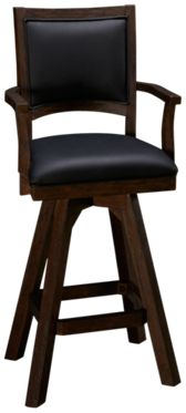 "East Coast Innovators  Guinness 30"" Swivel Armchair Bar Stool"