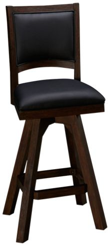 "East Coast Innovators Guinness 30"" Armless Swivel Bar Stool"