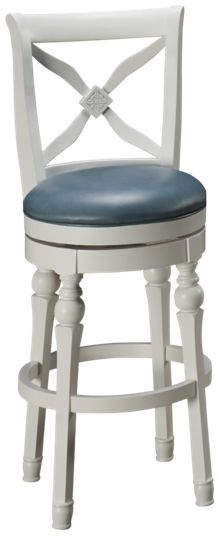 American Heritage Billiards Livingston Swivel Bar Stool
