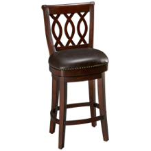 American Heritage Billiards Prado Swivel Counter Stool