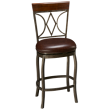 American Heritage Billiards Infinity Swivel Counter Stool